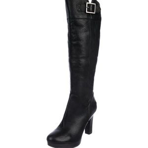 UGG Australia Leather Knee-High Boots